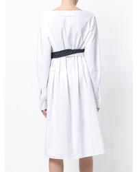 7cb42d3fa591 MM6 MAISON MARGIELA Wrap And Tie Front Shirt Dress, $263 | farfetch ...