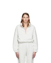 Gil Rodriguez Grey Diana Half Zip Sweatshirt
