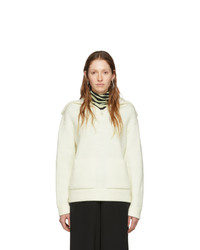 Proenza Schouler Off White White Label Chunky Rib Sweater