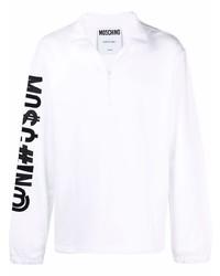 Moschino Symbols Logo Embroidered Sweatshirt