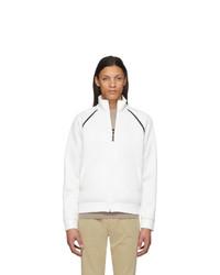 Fendi White Mesh Forever Jacket