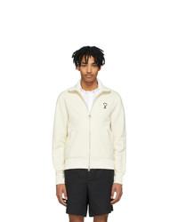 AMI Alexandre Mattiussi Off White Ami De Coeur Zip Track Jacket