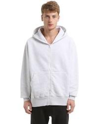 Oversized cotton zip up sweatshirt medium 3733785