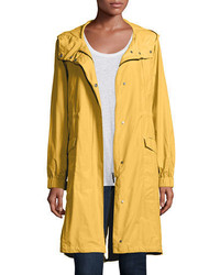 Hooded long anorak jacket medium 3749956