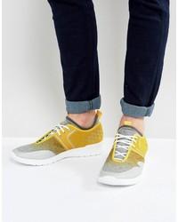 Boss Green By Hugo Boss Running Sneakers Yellow
