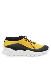 Fendi Sock Style Low Top Sneakers