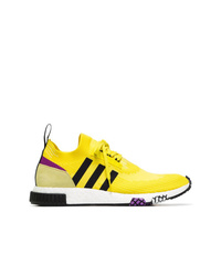 adidas Yellow And Black Nmd Racer Sneakers