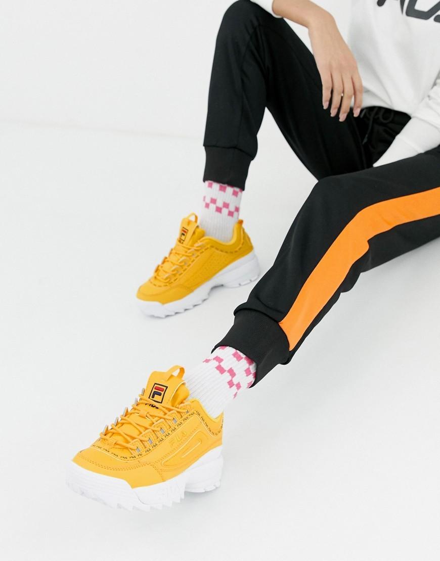 mens yellow filas Shop Clothing \u0026 Shoes