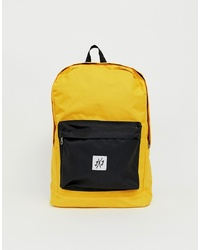Jack & Jones Backpack In Colour Block With Branded Logo