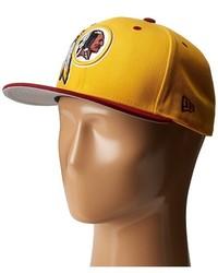New Era Nfl Two Tone Team Washington Redskins Baseball Caps