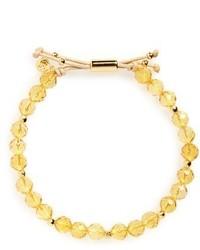 Power semiprecious stone beaded bracelet medium 3666305