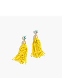Beaded tassel earrings medium 822179