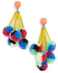 Caicos pompom drop earrings medium 4419959