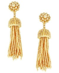 Lisi Lerch Golden Tassel Earrings