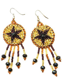 Tu Anh Boutique Goddess Star Earrings