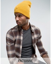 Puma Archive No 1 Beanie In Yellow To Asos 02142803