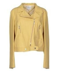 Yellow biker jacket original 8877101