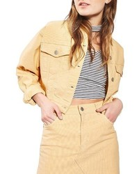 Moto crop corduroy jacket medium 3684950