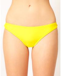 Yellow Bikini Pant