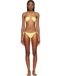 Prism Yellow Bandeau Venice Beach Bikini
