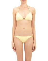 Eres Zinc Nickel Gold Band Bikini Yellow