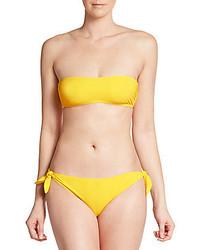 Dolce & Gabbana Strapless Bandeau Bikini Top