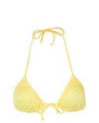 Knitted bikini top medium 7409682