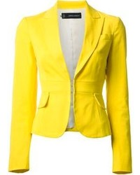 Yellow Blazer | Women's Fashion