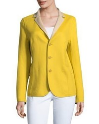 Akris Barcelona Birch Wool Blazer
