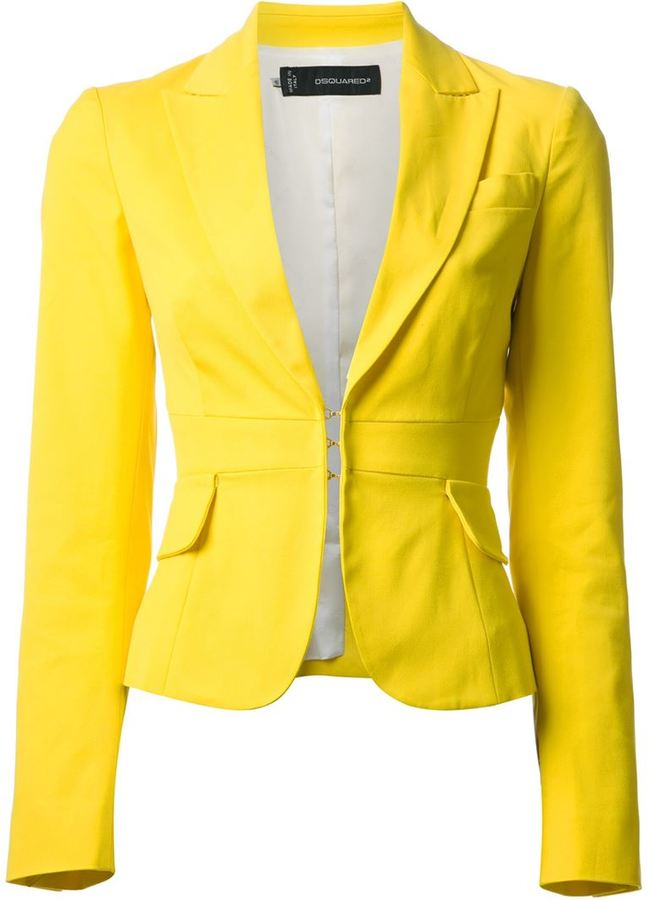 Dsquared2 Cropped Blazer | Where to buy & how to wear