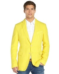 Polo Ralph Lauren Morgan Yellow Twill Sport Coat | Where to buy