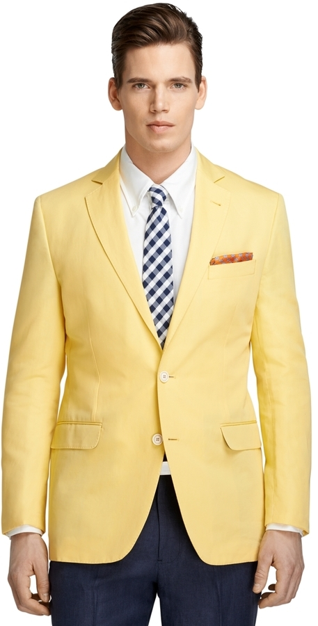 Brooks Brothers Fitzgerald Fit Cotton And Linen Sport Coat | Where ...