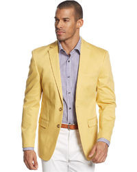 Ferrecci Solid Bright Yellow Sport Coat Jacket Blazer   Where to