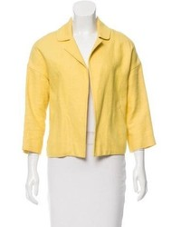 Marni Notch Lapel Open Front Blazer