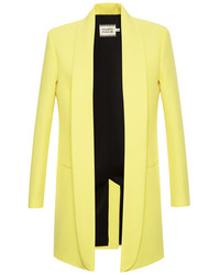 Fausto Puglisi Tailored Blazer Yellow