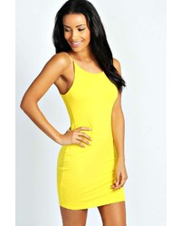 Yellow bodycon dress original 1384683