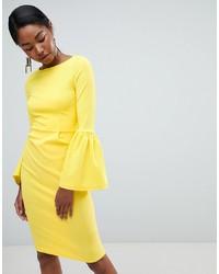 11233d55220b7 Women's Yellow Bodycon Dresses from Asos | Women's Fashion ...