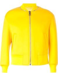 Zip collar bomber jacket medium 245012