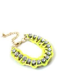 ChicNova Fashionable Candy Color Bracelet With Cz Diamond