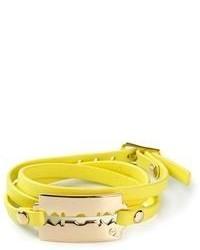 McQ by Alexander McQueen Razor Triple Bracelet