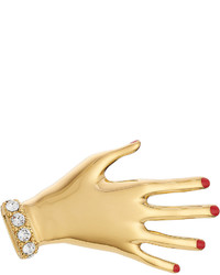 Sonia Rykiel Jeweled Hand Brooch