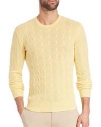 Polo Ralph Lauren Cable Cashmere Crewneck Sweater