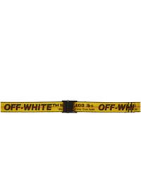 Off-White Yellow Industrial Mini Belt