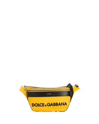 Yellow Canvas Fanny Pack