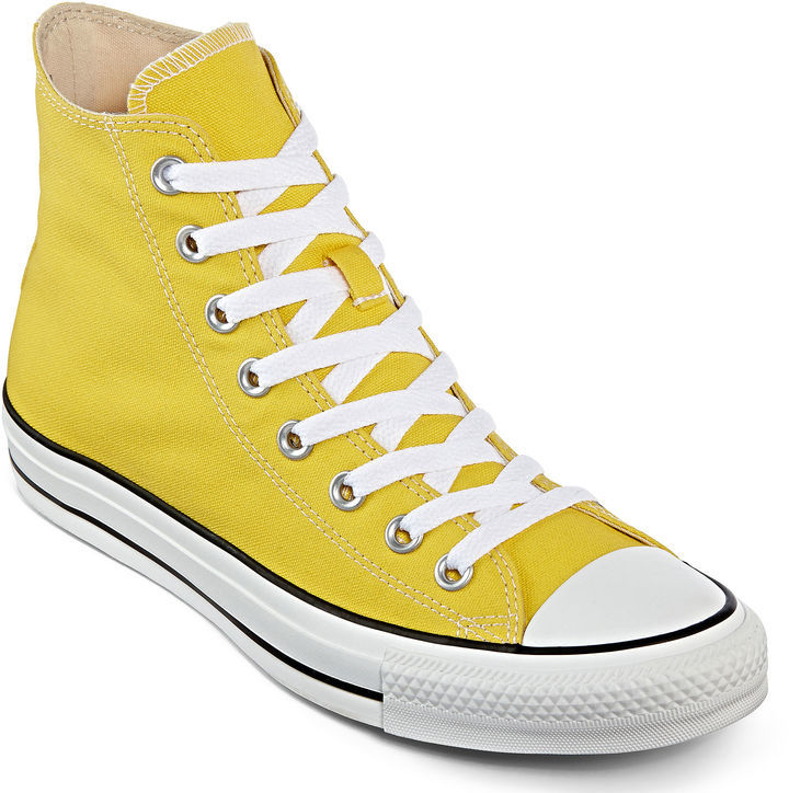 converse all star hi amarillas