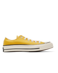 Converse Yellow Varsity Remix Chuck 70 Ox Sneakers