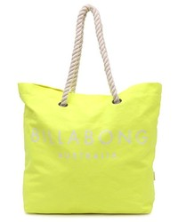 Yellow Canvas Tote Bag