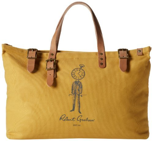 Robert Graham Pierce Canvas Tote Bag | Where to buy & how to wear