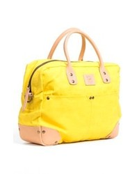 Will Leather Goods Canvas Flight Bag Yellow One Size