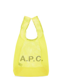 A.P.C. Yellow Rebound Shopping Tote